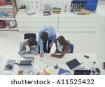 from above photo of college...   Shutterstock . vector #611525432