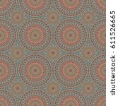vector seamless pattern....   Shutterstock .eps vector #611526665