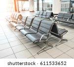 Empty Airport Terminal Waiting...
