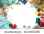 Colorful Tailoring Objects On A ...