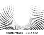 vector halftone vawe dots for... | Shutterstock .eps vector #6115522