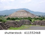 mexico   teotihuacan site | Shutterstock . vector #611552468