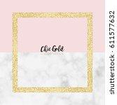 gold marble modern vector design   Shutterstock .eps vector #611577632
