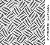 japanese ink seamless pattern ... | Shutterstock .eps vector #611592302
