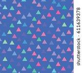 vector color pattern. geometric ...   Shutterstock .eps vector #611639378