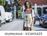 milan  italy   september 22 ... | Shutterstock . vector #611641625