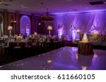 wedding cake  | Shutterstock . vector #611660105