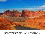capitol reef national park  utah | Shutterstock . vector #611690642