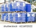 Chemical Plant  Plastic Storage ...