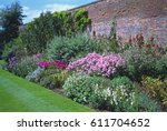 Flower Border In The Walled...