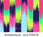 grunge vector background. dusty ... | Shutterstock .eps vector #611745476