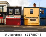 grimsby  england   march 14 ...   Shutterstock . vector #611788745
