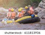 Group Of People White Water...