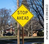 Small photo of Stop Ahead