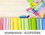 Cotton Colored Fabric....