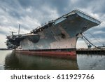us navi  aircraft carrier... | Shutterstock . vector #611929766
