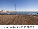 santa monica pier | Shutterstock . vector #611938022