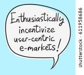 business buzzword  ...   Shutterstock .eps vector #611958686