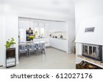 fancy home interior | Shutterstock . vector #612027176