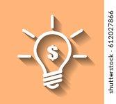 profitable idea money vector... | Shutterstock .eps vector #612027866