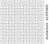 parquet pattern. basket weave... | Shutterstock .eps vector #612091802