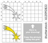 copy the picture using grid... | Shutterstock .eps vector #612092822