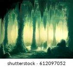 digital illustration of... | Shutterstock . vector #612097052