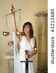 libra or scales  this photo is... | Shutterstock . vector #61211680
