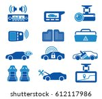 autoservice autoshop icons | Shutterstock .eps vector #612117986