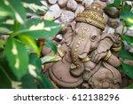 ganesha in the garden | Shutterstock . vector #612138296