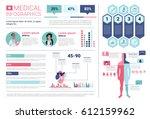 health medicine infographics... | Shutterstock .eps vector #612159962
