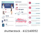 health medicine infographics... | Shutterstock .eps vector #612160052