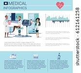 health medicine infographics...   Shutterstock .eps vector #612161258