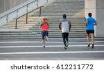multi racial group of people... | Shutterstock . vector #612211772