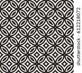 vector seamless geometric... | Shutterstock .eps vector #612218072