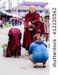 kyaing tong shan state burma  ... | Shutterstock . vector #612220562
