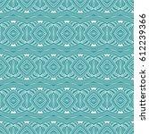 geometric rhombus  scallop... | Shutterstock .eps vector #612239366