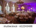 classy wedding setting.table...   Shutterstock . vector #612243488