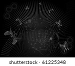 abstract backgrounds  black... | Shutterstock .eps vector #61225348
