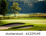 golf course | Shutterstock . vector #61229149