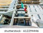 washignton  dc  usa   march 4 ... | Shutterstock . vector #612294446
