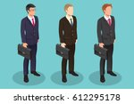 businessman set | Shutterstock .eps vector #612295178