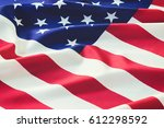 flag of the united states of... | Shutterstock . vector #612298592