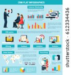 customer relatioship... | Shutterstock .eps vector #612334436