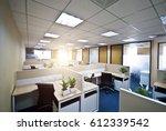 interior of a modern office | Shutterstock . vector #612339542