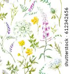 Watercolor Floral Pattern  Wil...