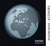 Globe Design Vector - stock vector