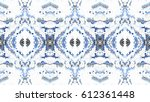 mosaic colorful horizontal... | Shutterstock . vector #612361448