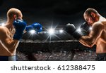 box match best moments . mixed... | Shutterstock . vector #612388475