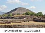 mexico  teotihuacan | Shutterstock . vector #612396065